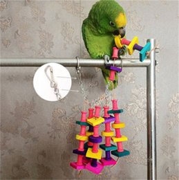 Home & Garden Trustful 1pc Small Animal Rat Parrot Grid Ferret Bird Rope Nets Toys Swing Hammock Hanging Cage For Daily Animal Pet Products