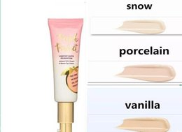 Chinese  Hot makeup Foundation Peach perfect comfort matte foundation 3colors 48ml Face cream Foundation High quality DHL free shipping manufacturers