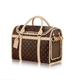 Dog luggage online shopping - 2019 DOG CARRIER M42024 Men Messenger Bags Shoulder Belt Bag Totes Portfolio Briefcases Duffle Luggage