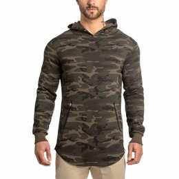 Discount sport men style hoodies - Autumn New Style Men Long Lines Hoodies Sport Hoodies Cotton Male Tracksuit Pullover Good For Exercise Sportwear