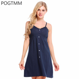 47be57a78d Sexy Nightgown Button Lace Sleepwear Nightwear Nightdress Female Home Night  Wear Dress Sleepshirt Gown Nighty White Chemise XXL