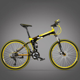 $enCountryForm.capitalKeyWord NZ - wholesale G8 Folding Mountain Bike 21 Speeds 17x26 Inch mountain bicycle Full Suspension Frame Double Disc Brakes road bike