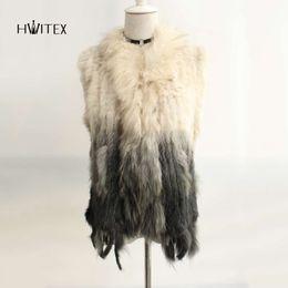 $enCountryForm.capitalKeyWord UK - JM066 women Real rabbit hair raccoon fur collar weave rabbit fur grass ves long tassel tassel manufacturers direct sale