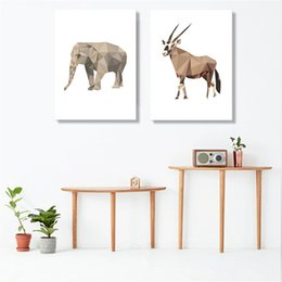 $enCountryForm.capitalKeyWord UK - Abstract Geometry A4 Prints Wall Art Pictures Animals Cow Monkey Canvas Paintings Decor Home Children Room Modern Nordic Posters