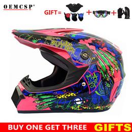 Discount moto professional - Motorcycle Helmet Off Road Professional ATV Cross Helmets MTB DH Racing Motocross Helmet Dirt Bike Capacete Moto casco f
