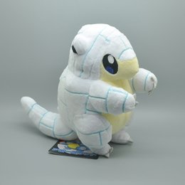 Ice vIdeo online shopping - Hot New quot CM Alola Ice Sandshrew Plush Doll Anime Collectible Stuffed Dolls Kid s Gifts Soft Toys