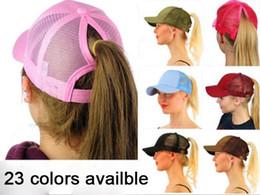 23 color CC Glitter Ponytail breathable mesh baseball cap men s ladies bag  summer truck Gorras shiny gold shining ladies hat ec16c45fb0a3