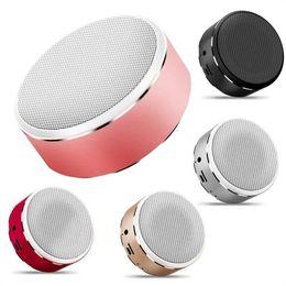 $enCountryForm.capitalKeyWord Australia - HIFI Colorful Metal Mini Bluetooth speaker portable wireless music HIFI bluetooth audio receiver call FM T For Smartphone Car Audio DHL Ship