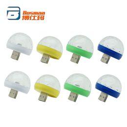 $enCountryForm.capitalKeyWord UK - Wholesale BOSMAA Mini USB RGB LED Decorative Atmosphere Light Auto Car Interior Club Disco Magic Stage Effect Lamp