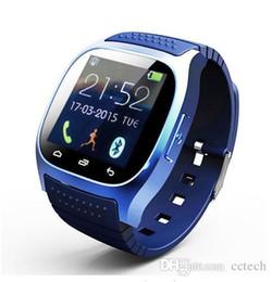 Wholesale Wrist Watch Phone NZ - Bluetooth Wrist Smart Watch M26 Waterproof Smartwatch Call Music Pedometer Fitness Tracker Watch For Android Smart Phone PK A1 U8 T8 Q18