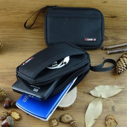 Travel Flash Drive Australia - New Portable Neoprene Travel Storage Bag for HDD USB Flash Drives Power Bank U disk Phone Data Cable Digital Accessories Case