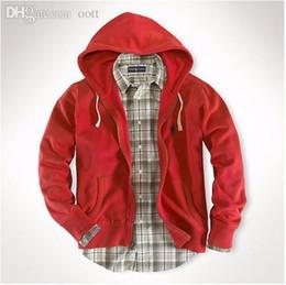 $enCountryForm.capitalKeyWord Canada - Wholesale-Free delivery 2018 Polo Men's Zipper cardigan Sport hooded hoodies Fashion Coats Jacket Sportswear sweatshirts hoodie size