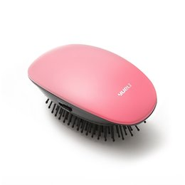 China wholesale Yueli Anion Massage Comb Hair Brush Portable Beauty Care Hair Salon Styling Vibrating Massage Easy Cleaning cheap anion watches suppliers