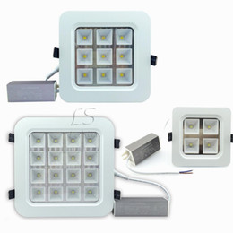 Touch drivers online shopping - CREE W W W W Led Ceiling Downlights High Bright Led Recessed Panel Kitchen Lighting AC V Waterproof Drivers