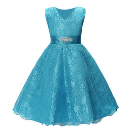 $enCountryForm.capitalKeyWord UK - Fashion Baby Girls Dress Children Vintage Designer Princess Lace For Wedding Events Party Birthday Frocks Ceremonies Kid Dresses FZ025