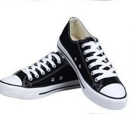 Wholesale Canvas High Shoes Australia - NEW size35-45 New Unisex Low-Top & High-Top Adult Women's Men's star Canvas Shoes 13 colors Laced Up Casual Shoes Sneaker shoes Retail