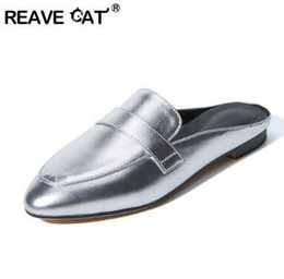 $enCountryForm.capitalKeyWord UK - REAVE CAT Big size 32-43 Summer Ladies casual shoes Fashion 2017 Mules shoes Outside slippers Low heels Female footwear RL3434