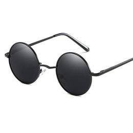 bfe86d21ba9 UV400 New Fashion Polarized Sunglasses Beach Eyewear Flash Round glasses  for Men Women 801