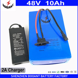 Motor Bicycles Australia - BOOANT Free Duty to US EU 48V 10AH 550W Electric Bicycle Battery for Bafang Motor 13S 5P Li-ion Battery pack with 2A Charger