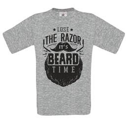 $enCountryForm.capitalKeyWord UK - loose the razor its beard time Original rockabilly haircut barber MENS t SHIRT Funny free shipping Unisex Casual