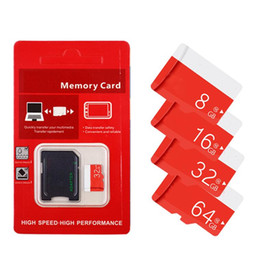 Chinese  16GB 32GB 64GB 80MB s Class10 TF Flash Memory Card with Free SD Adapter with retail package free shipping manufacturers