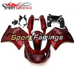 Kawasaki Fairing Kits Zx11 UK - Red Full Fairings For Kawasaki ZX11 ZZR1100D 93 94 95 96 97 98 99 00 01 02 03 1993 - 2003 ABS Injection Motorcycle Fairing Kit Cowling