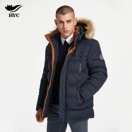 a250c499e3cb HAI YU CHENG Winter Coat Male Windbreaker Quilted Puffer Jacket Mens Winter  Parkas Jacket Male Coat Parka Anorak 7700