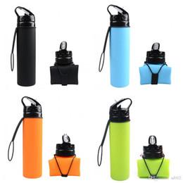 $enCountryForm.capitalKeyWord Canada - Sports Water Bottles Large Capacity Silicone Folding Cup For Kids Telescopic Drinkware Eco Friendly Food Grade 13 8yf ii