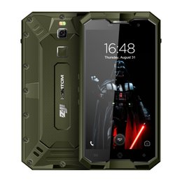 "$enCountryForm.capitalKeyWord Australia - HOMTOM ZOJI Z8 IP68 Waterproof shockproof 4G LTE Dustproof Fingerprint Smartphone MT6750 Octa core Cell Phone 5.0"" Android 7.0 4GB+64GB Mobl"