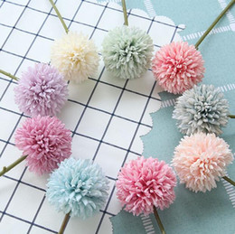 $enCountryForm.capitalKeyWord NZ - artificial flowers Chrysanthemum flower balls bud fake flower bouquet home decor for wedding home party decoration