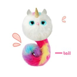 $enCountryForm.capitalKeyWord NZ - 010 Pom sies Patches Plush Interactive Pinky Toys With Brush Tickle Cuddle Dance Eyes Color Changing Lovable Wearable Kids Christmas Gifts