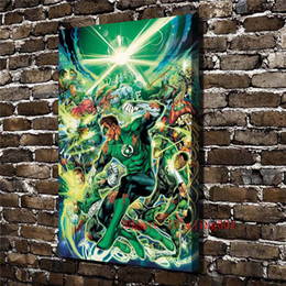 $enCountryForm.capitalKeyWord NZ - DC Comic Green Lantern , Canvas Pieces Home Decor HD Printed Modern Art Painting on Canvas (Unframed Framed)