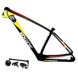 "$enCountryForm.capitalKeyWord UK - MTB carbon bicycle frame 29er carbon mountain bike frame 29"" carbon bikes frameset compatible QR and thru axle"