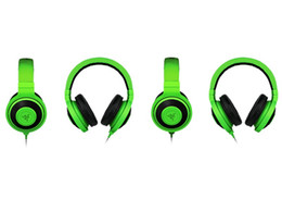$enCountryForm.capitalKeyWord UK - New Best Quality Cheap 3.5mm Razer Kraken Pro Gaming Headset with Wire control headphones in BOX for IOS Android system most popular DHL
