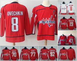 capital jerseys 2019 - Men s Washington Capitals Hockey Jerseys 8 Alexander Ovechkin  70 Braden Holtby 77 73e14ec6b541