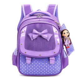 cartoon Backpacks Children School Bags for girls Bow Princess SchoolBag  kids school Backpack Hello Kitty mochila infantil sac 283cc0d08a6c8