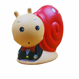 Living fairy online shopping - Simulation PU Squishies Animal Snail Shape Slow Rising Squishy Kawaii Kids And Children Gift Toys Hot Sale ym CB