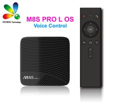 M8s Amlogic Android Box NZ - Mecool M8S PRO L 4K TV Box Android 7.1 Smart TV Box 3GB 16GB Amlogic S912 Cortex - A53 CPU Bluetooth 4.1 + HS With Voice Control