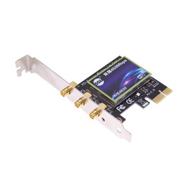 External Express Card Australia - 450M WiFi Wireless PCI Express PCI-E Adapter Desktop PC Computer Network wireless len card with External and Detachable Antenna