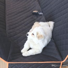 Discount cloth seats - Black Pet Waterproof Mat Portable travel Dog Car Seats Covers Oxford Cloth Puppy Seat Cushion High Quality 55zy3 BB
