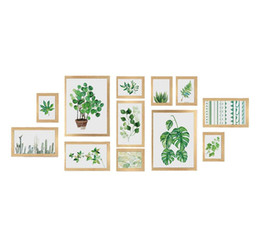 $enCountryForm.capitalKeyWord UK - Photo Frame Wall Gallery Kit Includes: Gallery Wall Frame Set,Perfect Frame,Art Painting Core,Home And Wall Decorations (Wood Color)
