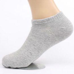 sock slippers men 2019 - 20pcs =10pairs Spring Summer Autumn Men Elastic Invisible Ankle Cotton Socks Plus Size 43 44 45 46 47 48 cheap sock slip