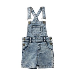 12 month boys brands clothes 2019 - Brand New Toddler Infant Child Kid Baby Girl Boy Deinm Bib Pants Shorts Overalls Romper Outfits Summer Casual Clothes 6M