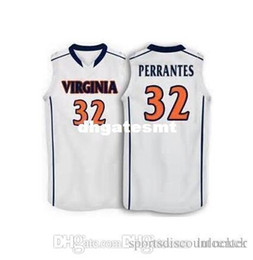 Factory Outlet  32 London Perrantes  4 Marial Shayok  24 kirven Virginia  college vest Jerseys Personalized Custom any size and name 671b33f6e