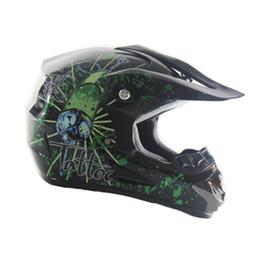 Super Racing Bike UK - Super Light Helmet Motorcycle Racing Bicycle Helmet Cartoon Children ATV Dirt bike Downhill MTB cross capacetes
