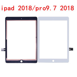"Mini Ipad Touch Screen Replacement Australia - Original Touch Screen Glass Panel Digitizer replacement for iPad pro 2018 10.5: 12.9"" with adhesive glue Assembly mini 50pcs"