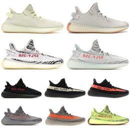 wholesale dealer 307f5 e02e5 adidas yeezy 350 v2 Más el tamaño Kanye West sply 350 V2 diseñador de  zapatos 2019 originales para hombre mujer sésamo crema blanco mejor tenis  de golf de ...