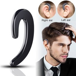 Wholesale Black S Hooks Australia - S-103 Sport Headphone Wireless Bluetooth Earphone Intelligent Stereo Bone Conduction Headset With Microphone With Retail Package