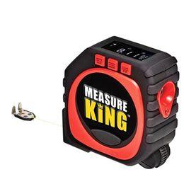2018 New Measure King 3-en-1 Digital Tape Measure String Mode Sonic Mode Roller Herramientas de medición Dropshipping AD045 + en venta