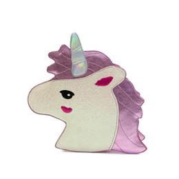 $enCountryForm.capitalKeyWord Canada - Fashion Unicorn Bag Symphony Skinnydip Wallet Laser Purse Harajuku Girl Heart Sister Horse Laser Retro Clutch Shoulder Bags 25x27x8cm 0.4KG